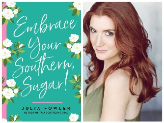 Julia Fowler and book cover