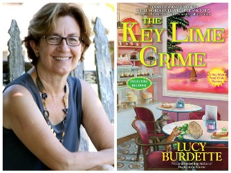 Lucy Burdette and book cover