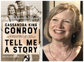 Cassandra King Conroy and book cover