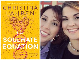Book cover image and photo of both women who share the Christina Lauren pen name