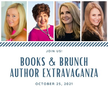 Photos of the four authors and event name