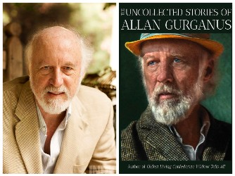 Allan Gurganus and book cover