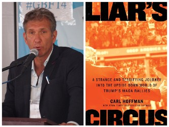 Carl Hoffman and book cover