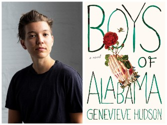 Genevieve Hudson and book cover