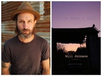 Photo of Will Johnson and book cover