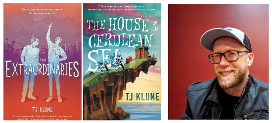 TJ Klune and book covers