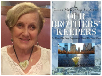 Photo of Libby Schaefer and book cover image
