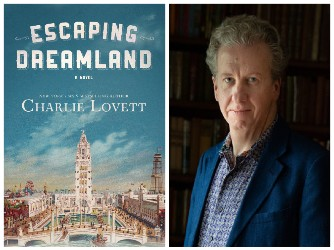 Charlie Lovett and book cover