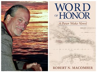 Robert N. Macomber and book cover