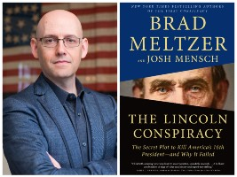 Brad Meltzer and book cover