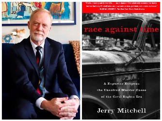 Jerry Mitchell and book cover