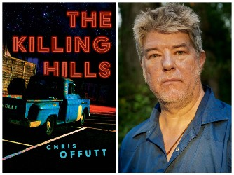 Book cover and photo of Chris Offutt