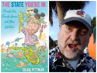 Book cover and photo of Craig Pittman
