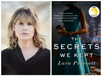 Lara Prescott and book cover