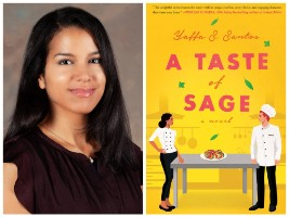 Yaffa S. Santos and book cover