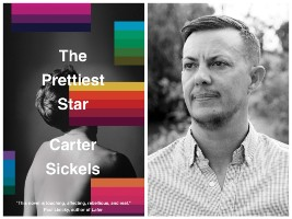 Carter Sickels and book cover