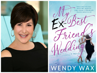 Wendy Wax and book cover