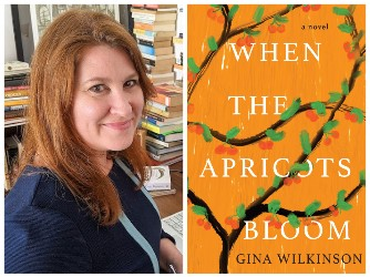 Gina Wilkinson and book cover